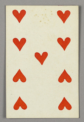 Nine of Hearts from Set of