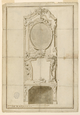 Project for a Chimneypiece with Alternative Suggestions