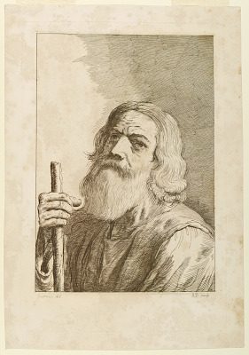 Old Man with a Staff