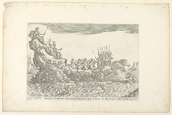 From a Series of Naval Battles for Wedding Festivities of Cosimo Il de'Medici, Ship of Neptune