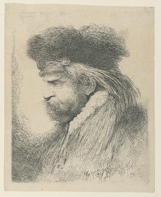 Portrait of a Man with a Fur Cap
