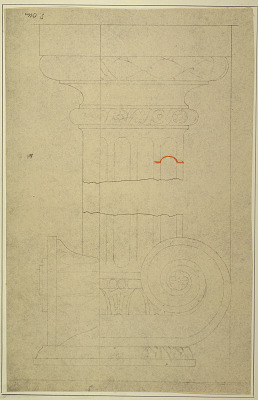 Capital and Base of Pilaster after Masreliez