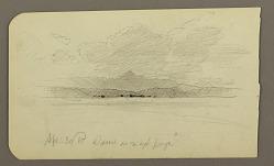 Mountain landscape, Toluca; Verso: Mountain, Toluca