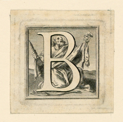 Decorated Capital Letter B
