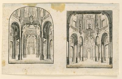 Stage Design: Interior of Palace Halls