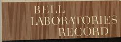 Album: Bell Laboratories Record