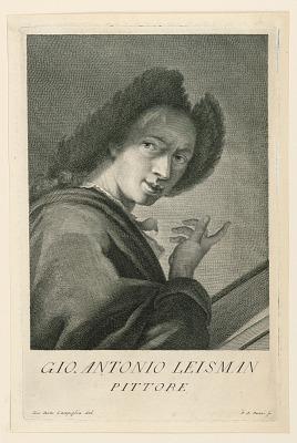 Portrait of Johann A. Lisman