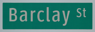 ClearviewHwy® Typeface: Barclay St