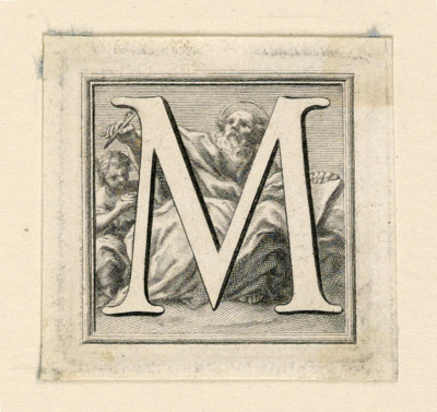 Decorated Capital Letter M
