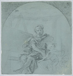Design for Allegory of Painting