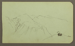 Mountain Landscape; Verso: Landscape