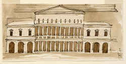 Elevation of a villa