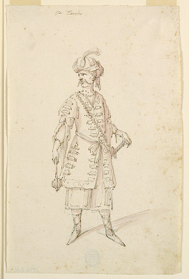 Costume Design: A Turk for a Ballet