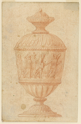 Urn with the Representation of the Salvation of Loth