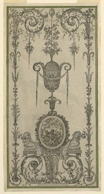 Arabesque Design for a Panel