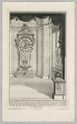 Funffte Ausgab seiner vorhabenden werckes...Unterschiedliche Neu Inventirte Verkleiden Zu Modernen und Astonmischen Perpendicul-Uhren...