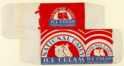 Package Design for National Dairy Ice Cream