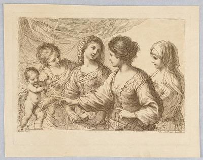Four Women With a Boy