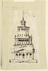 Villa or observation tower