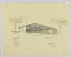 thumbnail for Image 2 - South Elevation of a Split-Level House to be Erected in Palo Alto, California