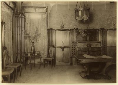 Dining Room, Hôtel Guimard, rue Mozart, Paris, France