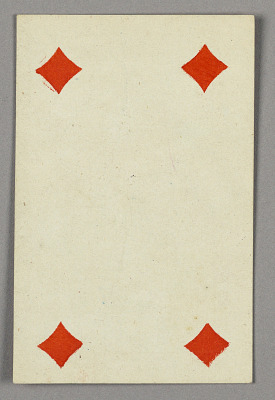 Four of Diamonds from Set of