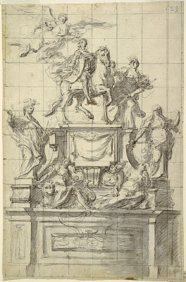 Design for a Monument to Emperor Charles VI of Naples