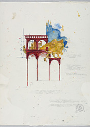 Stage Design: Painters' Elevation, for Othello