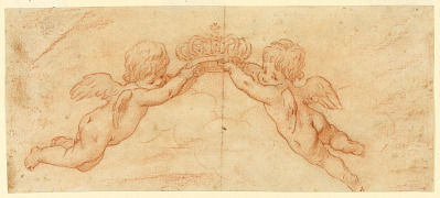 Putti with Crown