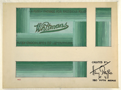 Design for Packaging, Whitman's