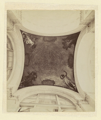 Mural Decoration, Dome of the Manufactures and Liberal Arts Building, World's Columbian Exposition, Chicago