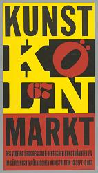Exhibition Poster: Robert Indiana, Kunst Markt , Köln