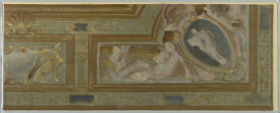 Study for Section of Ceiling Ornament