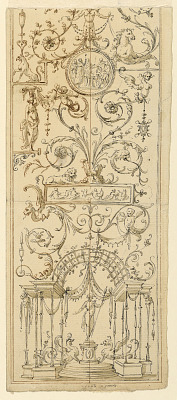 Design for a Painted Panel
