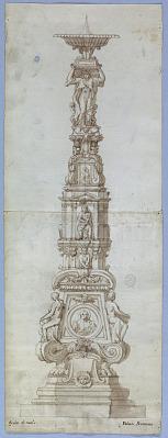 Elevation of a Candelabra