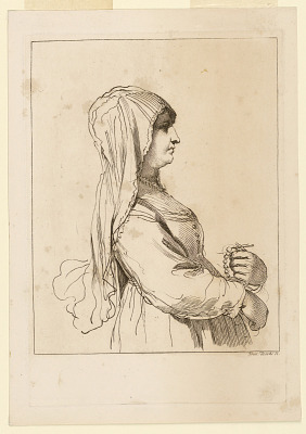 Woman with a Rosary