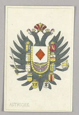 Austria, Ace of Diamonds from Set of