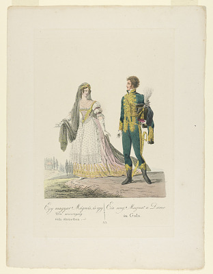 Hungarian Grandee and Lady in Gala Dress