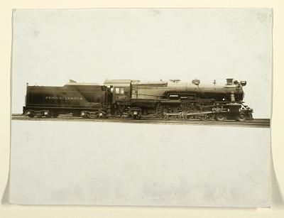 Manufacturer's Photograph of K4s Class Locomotive, Pennsylvania Railroad