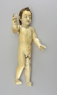 Christ Child as Salvador Mundi