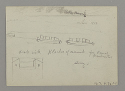 Sketches from the Middle East, including the Suez Canal
