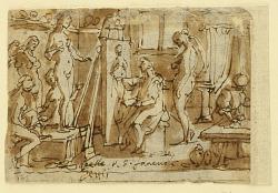 Recto: Zeuxis painting Helen; Verso: Ecce Homo