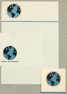 Palabras y Cuadros Recojidos Cruzando El Mundo [Word and Picture Throughout the World], Lonka de Bekker