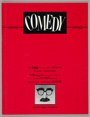 Comedy Magazine, Volume 1, No. 1