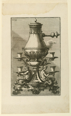 Coffee-pot and Stand from