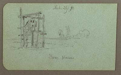 Dove Houses; Verso: Granary