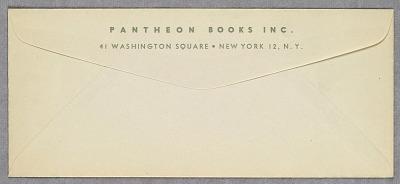 Pantheon Books, Inc.