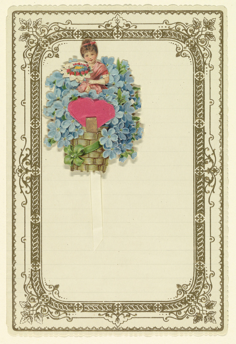 Resources Greeting Card With Forget Me Nots Smithsonian