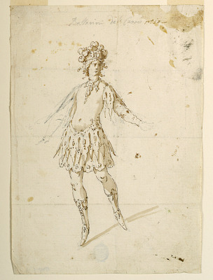 Costume Design: Dancer to Perform on a Chariot for a Ballet