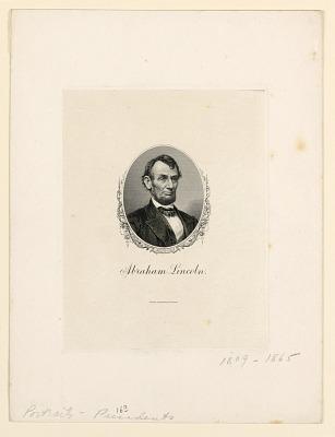 Portrait of Abraham Lincoln
